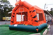 Tiger 15 x 15 Bounce House Rental