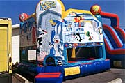 Looney Tunes 15 x 15 Bounce House Rental