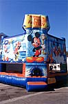 Mikey Mouse 15 x 15 Bounce House Rental